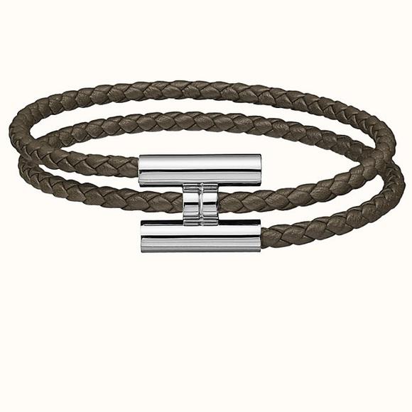 Hermes Tournis Tresse Bracelet 🧡